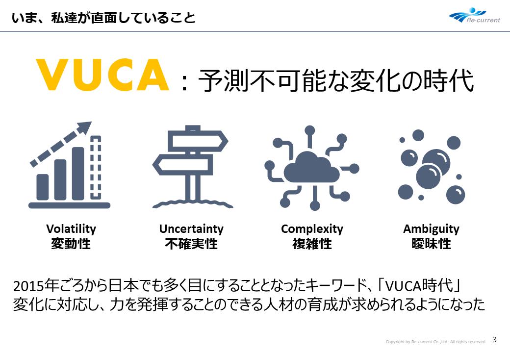 アマゾン奥村氏講演 VUCAの時代